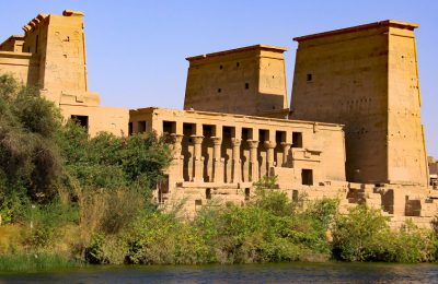 Temple De Philae Safran